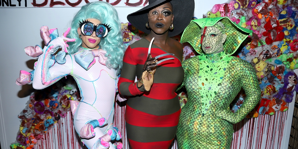 15 Frightening Photos From Bob The Drag Queen's Bloodbath Party in New York City