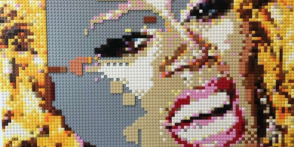 This Lego Artist Is Creating a Portrait of the Only Gay Role Model He Ever Knew Growing Up