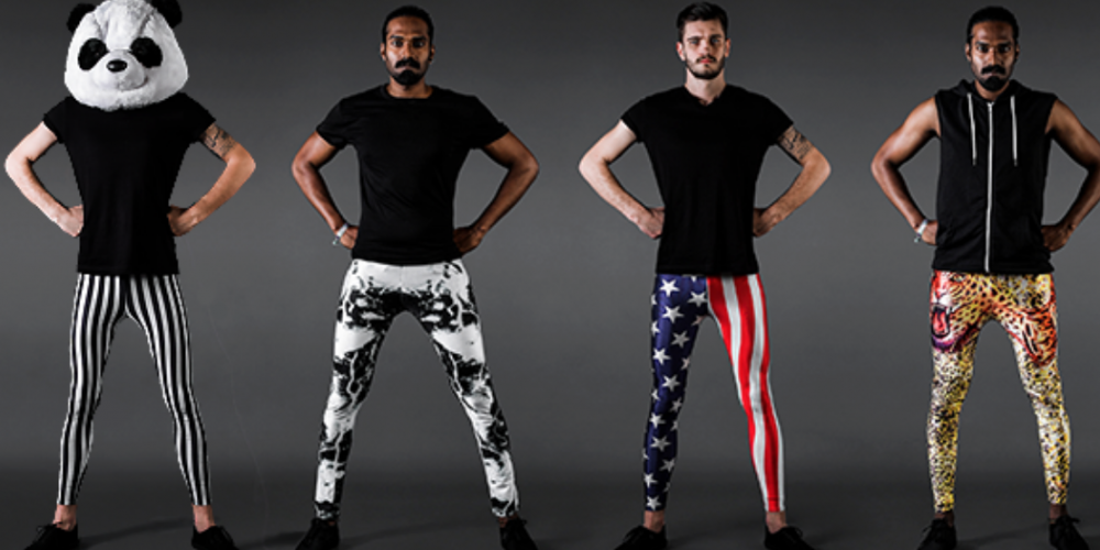 Are Men's Leggings the Latest Trend Ready for Take Off? This Label Sure Thinks So
