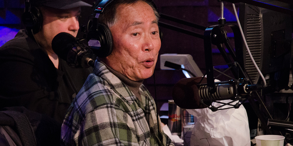 George Takei Last Month Told Howard Stern He Gropes Guys to 'Persuade' Them Into Sex