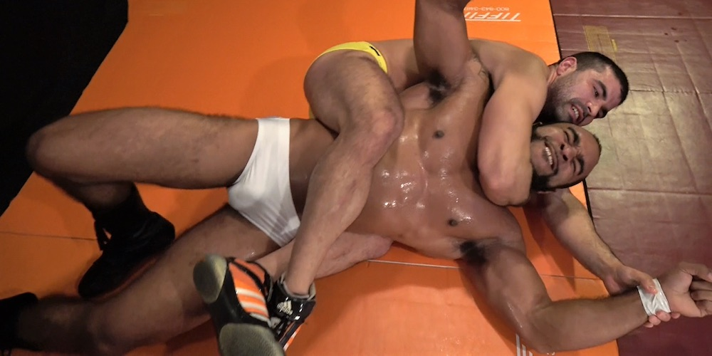 These 7 Gay Erotic Wrestling Websites Leave Us Sweaty and Down for the Count