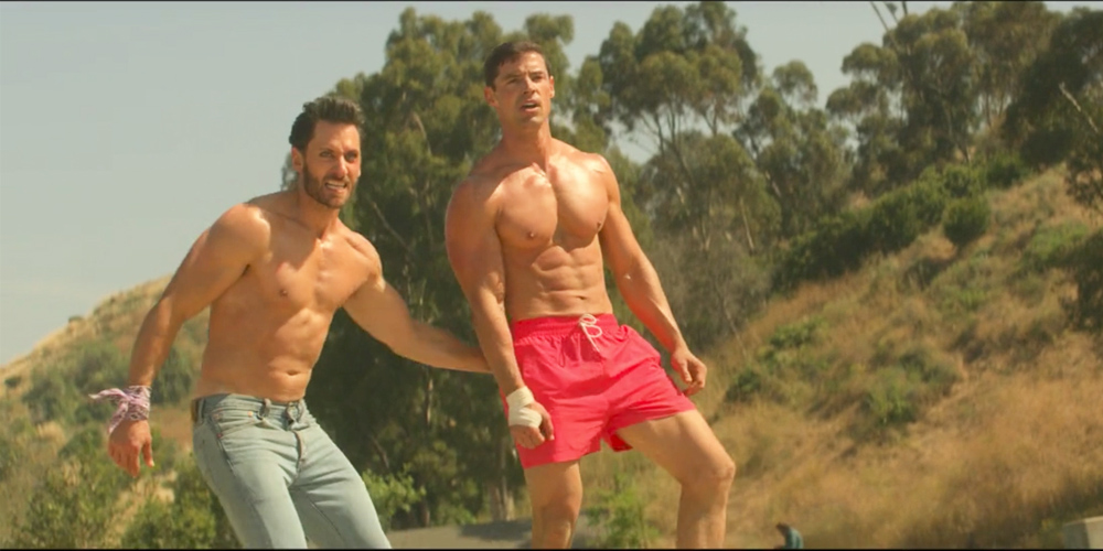 The Homoerotic Volleyball Scene in 'Future Man' Will Make the Straightest Bro Question His Sexuality