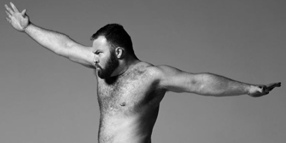 This Photographer Celebrates Positive Body Image with Nudes of Large, Diverse Men