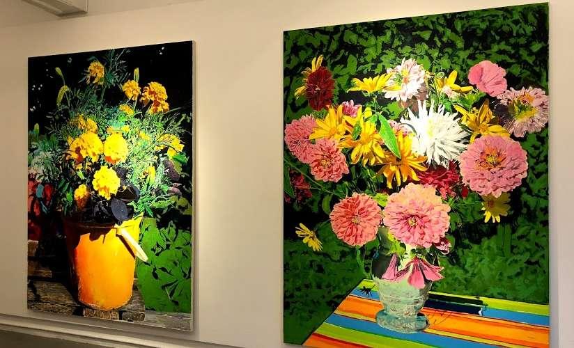 「給愛人們」的畫作(Paintings for Lovers)單身也可以看