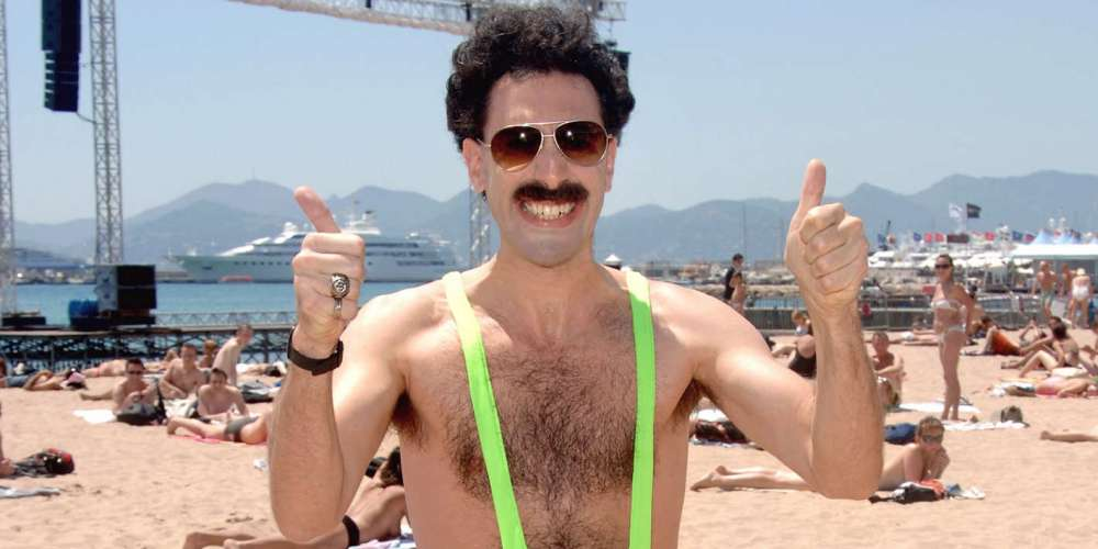 Sacha Baron Cohen Will Pay the Fines of Tourists Arrested in Kazakhstan for Wearing 'Borat' Mankinis