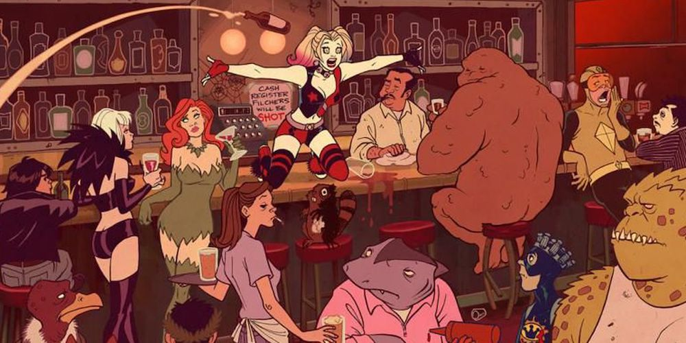 A New Harley Quinn Animated Series Is Coming to TV, and Poison Ivy's Along for the Ride