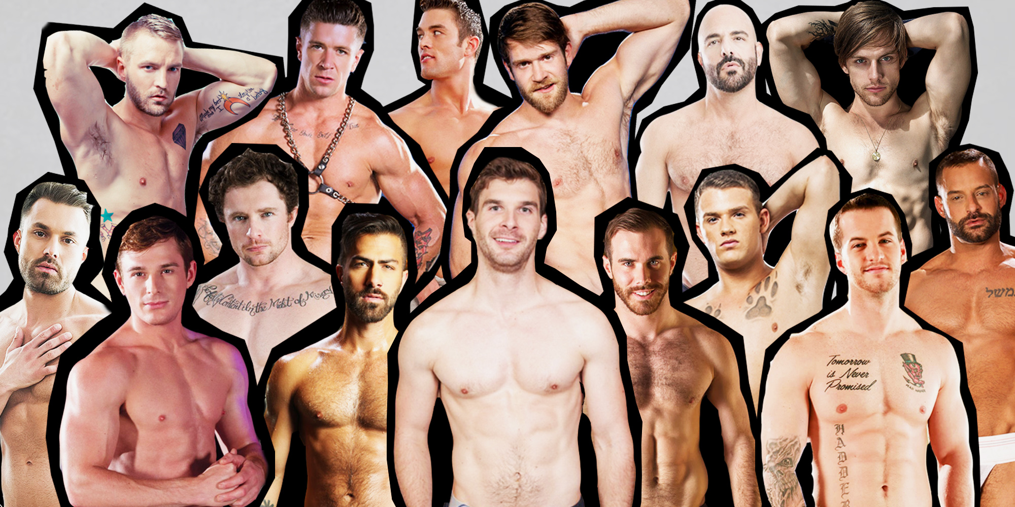 The Nominees for the 2018 GayVN Awards Are White AF, With a Segregated 'Best Ethnic Scene'