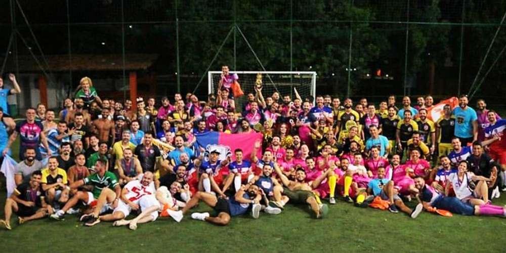 Bharbixas vencem a Champions LiGay de futebol no Rio (fotos)
