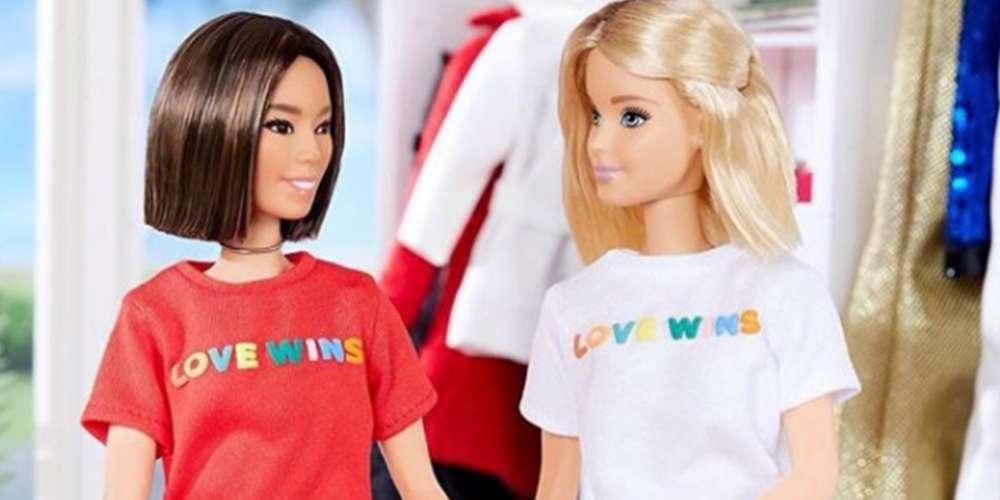 Em seu perfil oficial no Instagram Barbie declara apoio ao casamento gay