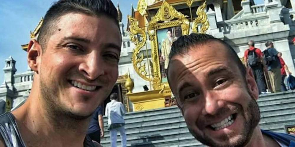 The Gay Couple Who Mooned Thai Temples May Now Face Prison Time for Computer Porn Charges