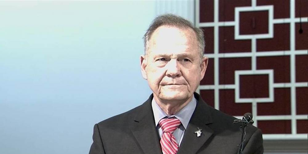 Roy Moore Officially Blames His Pedophilia on an LGBT Conspiracy Against Him