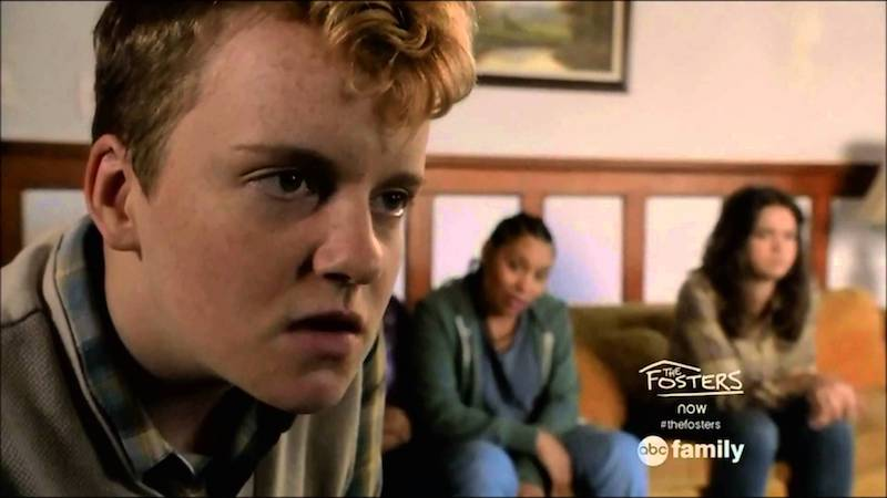 Tom Phelan as Cole in The Fosters, trans male TV characters 10