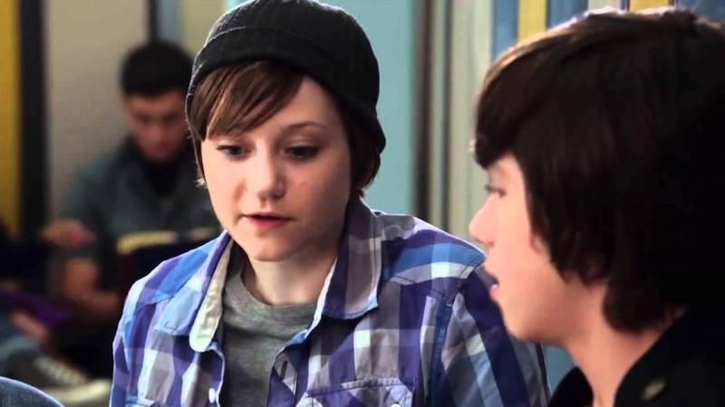Jordan Todosey as Adam Torres in Degrassi, trans male TV characters 09