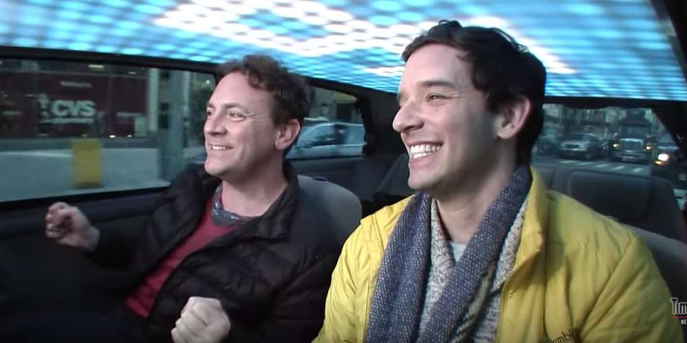 'Cash Cab' Returned This Week With Drew Droege and Michael Urie in the Backseat
