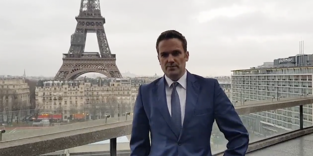 Watch Australia's French Ambassador Propose In Celebration of Marriage Equality