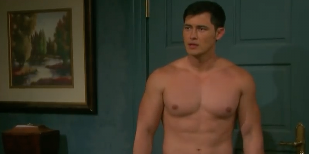 Enjoy This Steamy Kiss Between a Resurrected Dead Guy and Another Hunk on 'Days of Our Lives'