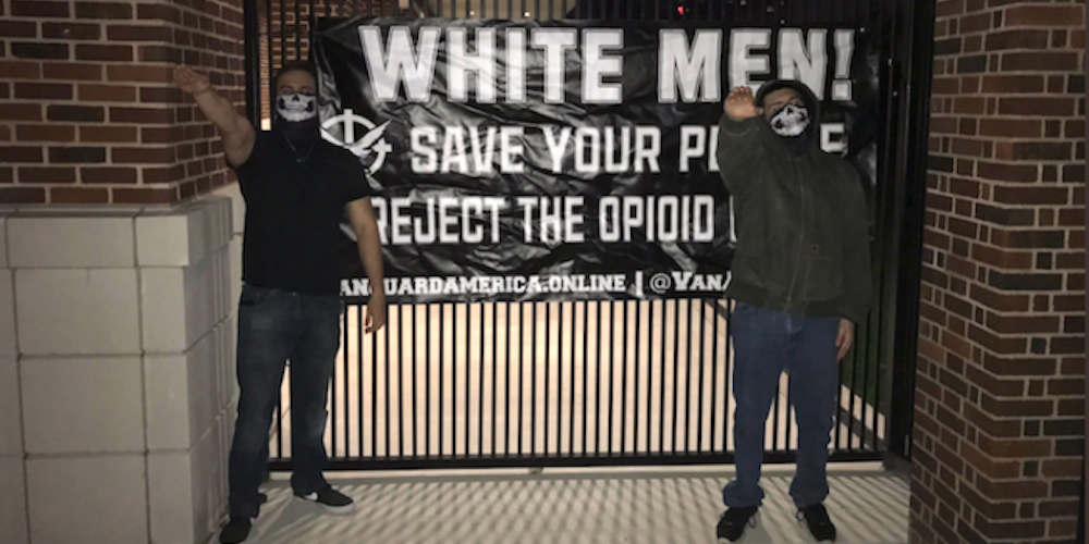 A White Supremacist Group Posted Racist and Homophobic Fliers Around a Dallas University
