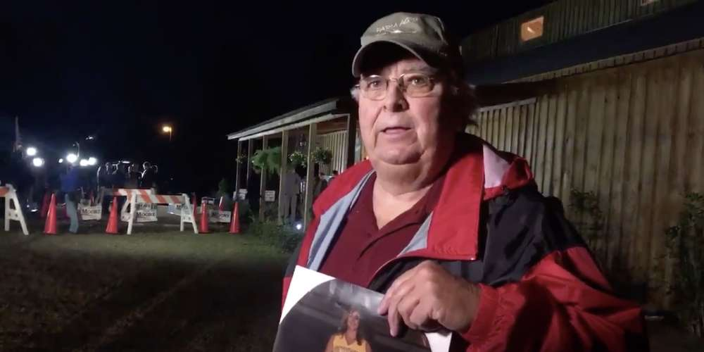 In This Heartbreaking Video, a Farmer Who Protested a Roy Moore Rally Talks About His Late Gay Daughter