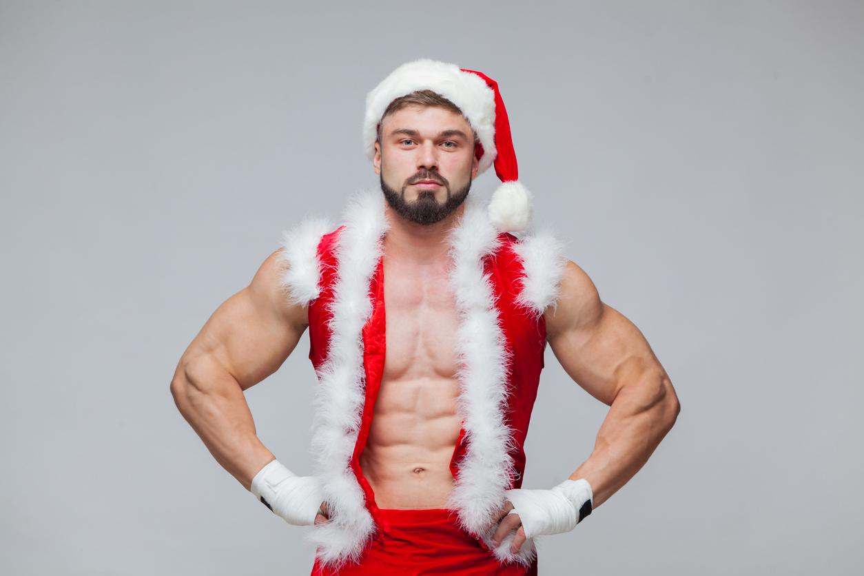 哪有聖誕老人這麼性感?IG肉搜猛男同志Santa Claus