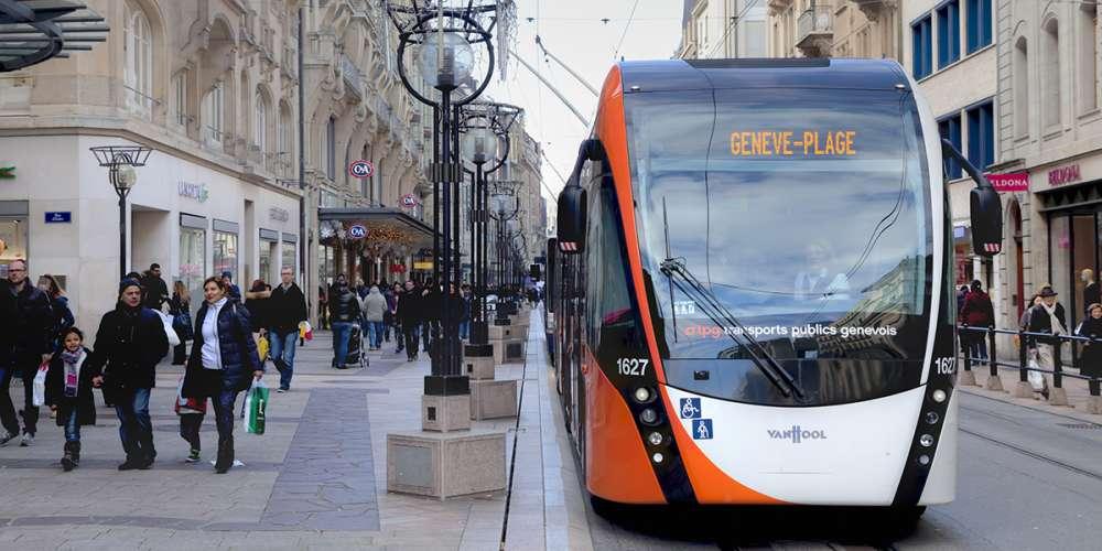 L'expulsion d'un passager homophobe dans un tram à Genève devient virale