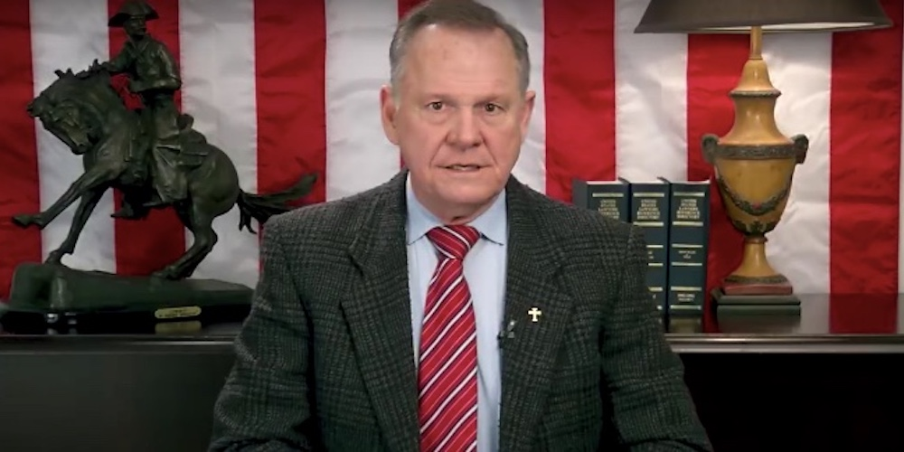 5 Crazy Anti-LGBTQ Statements Roy Moore Made While Refusing to Concede
