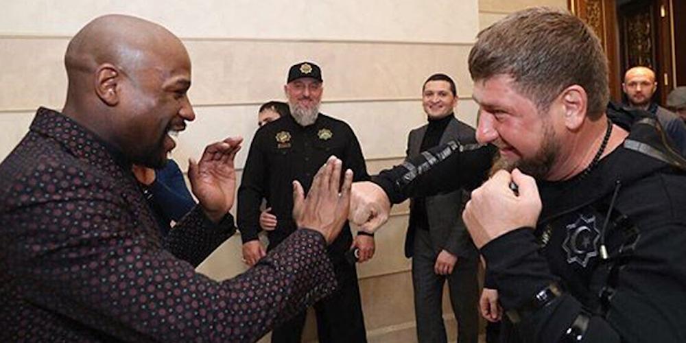 Boxer Floyd Mayweather Has Befriended Murderous Chechnya Leader Ramzan Kadyrov