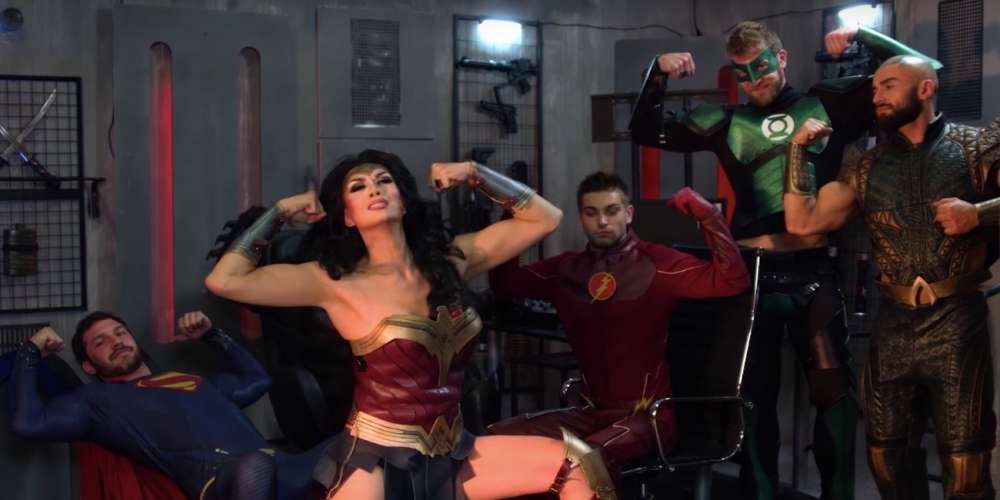 Manila Luzon Serves Up Wonder Woman in This Porn-tastic Justice League Music Video
