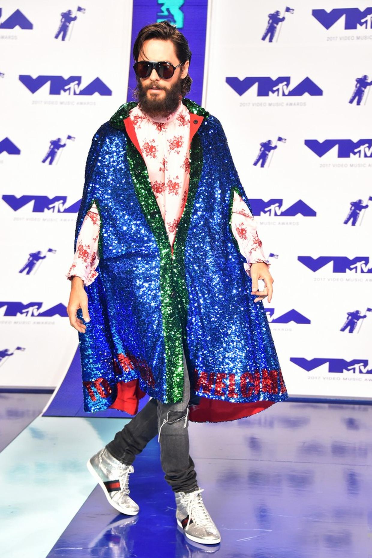 vma fashion jared leto red carpet looks