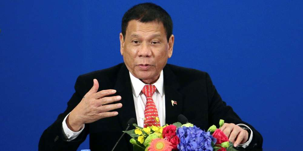 Rodrigo Duterte, President of the Philippines, Comes Out in Support of Same-Sex Marriage