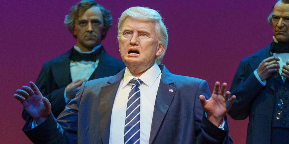 Bette Midler and 14 Other Twitter Users Mock Trump's Robot in Disney's Hall of Presidents
