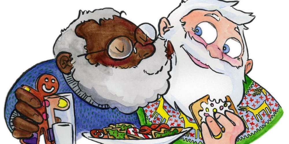 Breitbart Readers Discover This Book's Black, Gay Santa and Lose Their Effing Minds