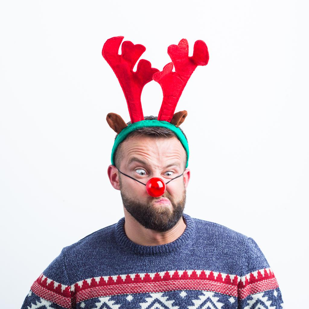 今年聖誕的創意新玩意:如何把你的乳頭變成麋鹿#reindeerboob