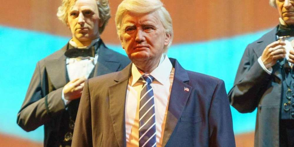 Exclusive: Gay Comic Who Heckled Trump Robot at Disney World Tells Us What Happened After