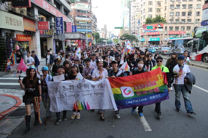 回顧2017年LGBT運動的5大收穫,包括台灣憲法法庭的有利判決