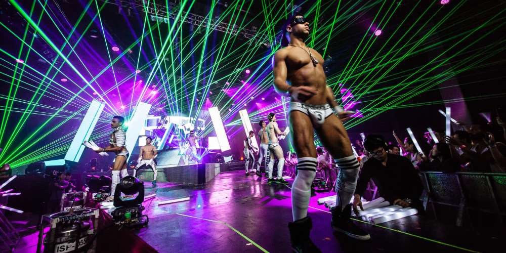 Tonight White Party Bangkok Comes to a Climax With Thousands of Half-Naked Men