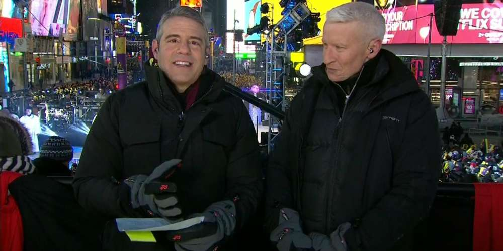 Reviews Are In, and People Aren't Impressed With Andy Cohen on CNN's NYE Telecast