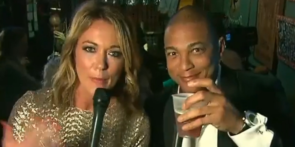 We Loved Seeing CNN's Don Lemon Get Drunk and Kiss His Boyfriend Live on New Year's Eve