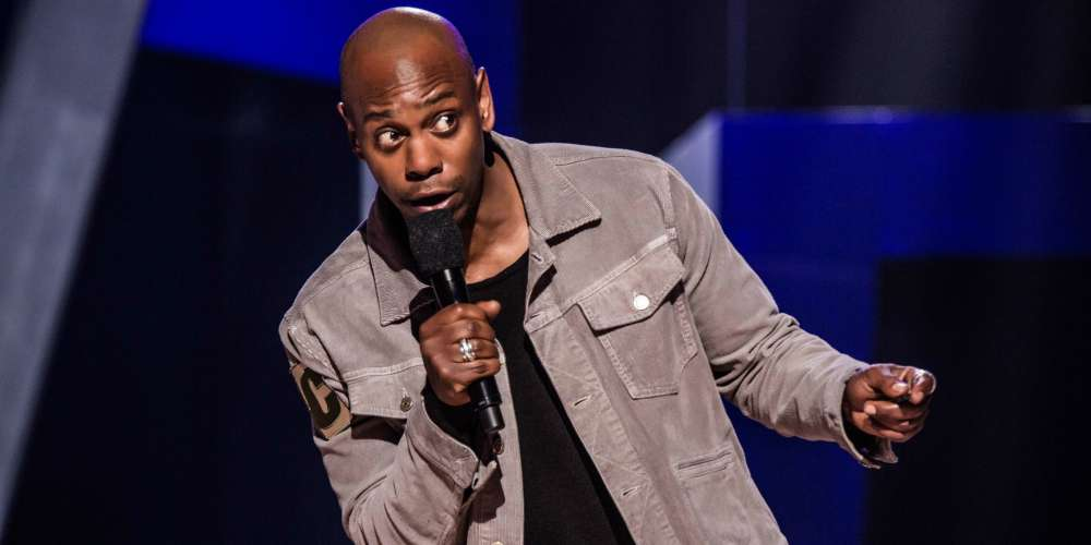 Dave Chappelle Targets Kevin Spacey Accuser Anthony Rapp, Saying 'He Grew Up Gay Anyway'
