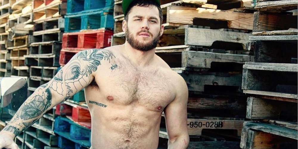 A Pro-Trump Twitter Troll Was Using a Picture of Hunky Gay Go-Go Boy Matthew Camp as His Own