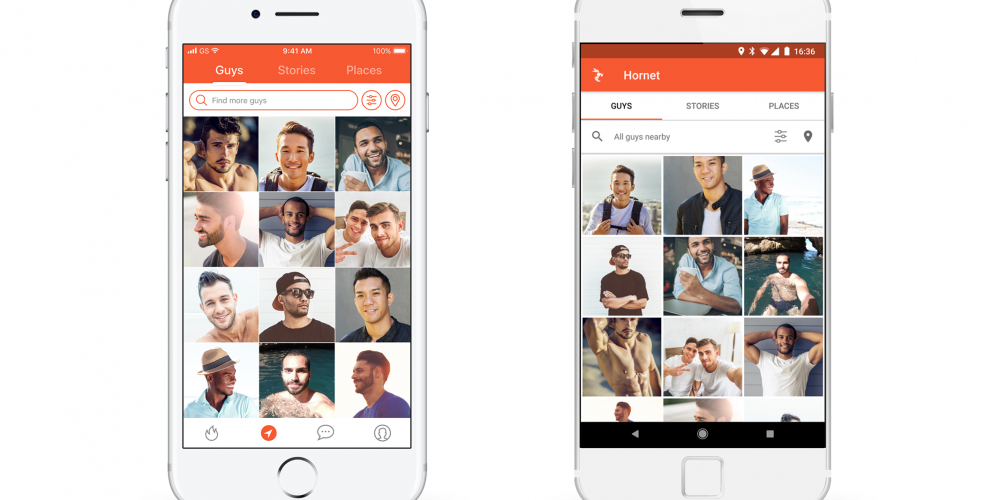 Searching for Guys on Hornet Just Got Restyled and Easier