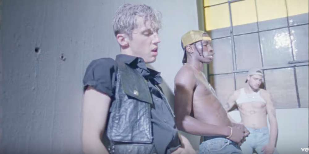 Troye Sivan's Sexy New Video for 'My My My!' Features Dirty Bathroom Stalls and Porn Stars