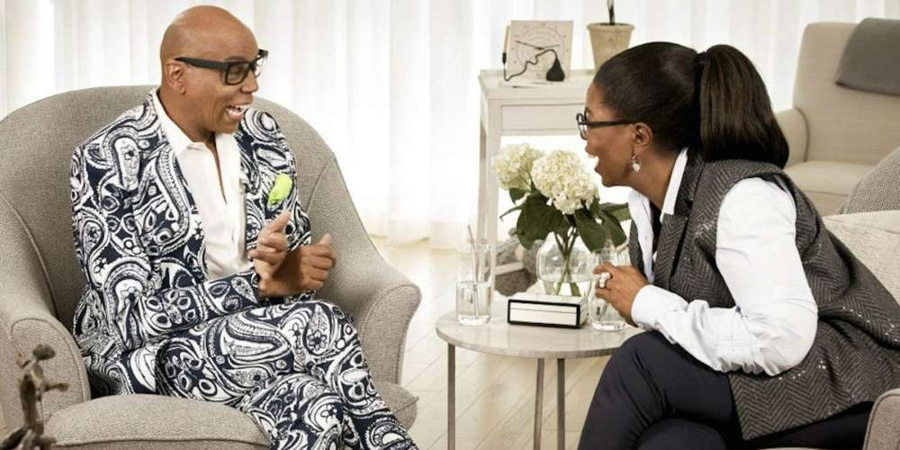 The Oprah RuPaul Interview Is Finally Online, and Yes, Squirrel Friends, It's Everything