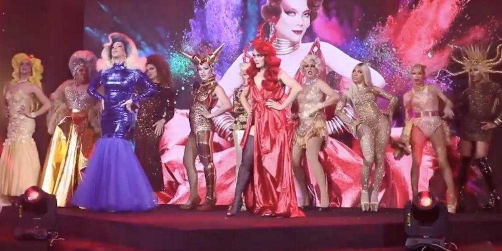 Regardez la présentation des drags-queens de RuPaul's Drag Race Thaïlande