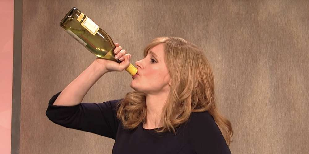 Jessica Chastain's 'What Even Matters Anymore' SNL Sketch Is Basically All of Us