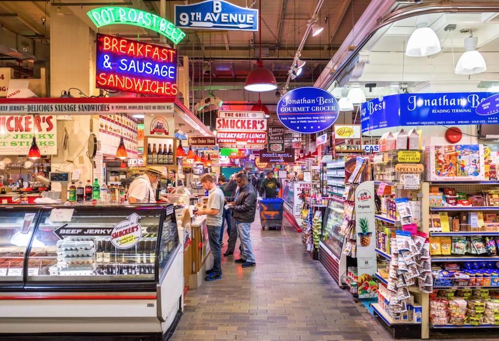 philadelphia guide reading terminal market