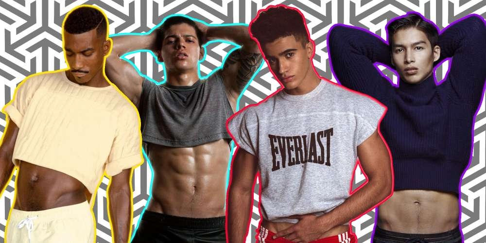 This Thread About Bringing the Crop Top Back for Men Is Exactly What the World Needs