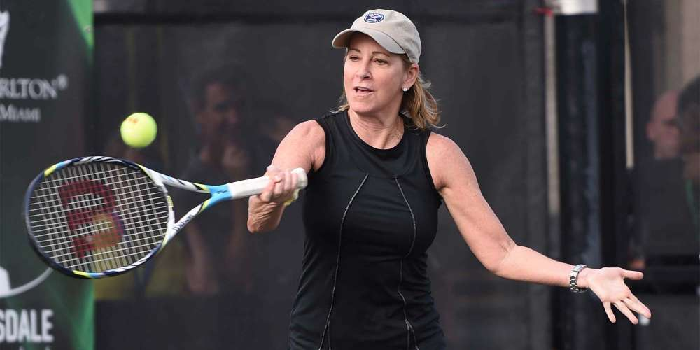 Tennis Legend Chris Evert Shares Her Thoughts on Renaming an Arena Named for a Homophobe