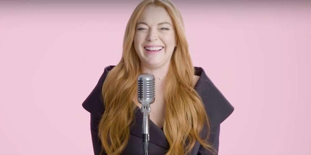 Lindsay Lohan Leyó sus Frases Favoritas de 'Mean Girls', pero Luce Algo Extraña en el Video