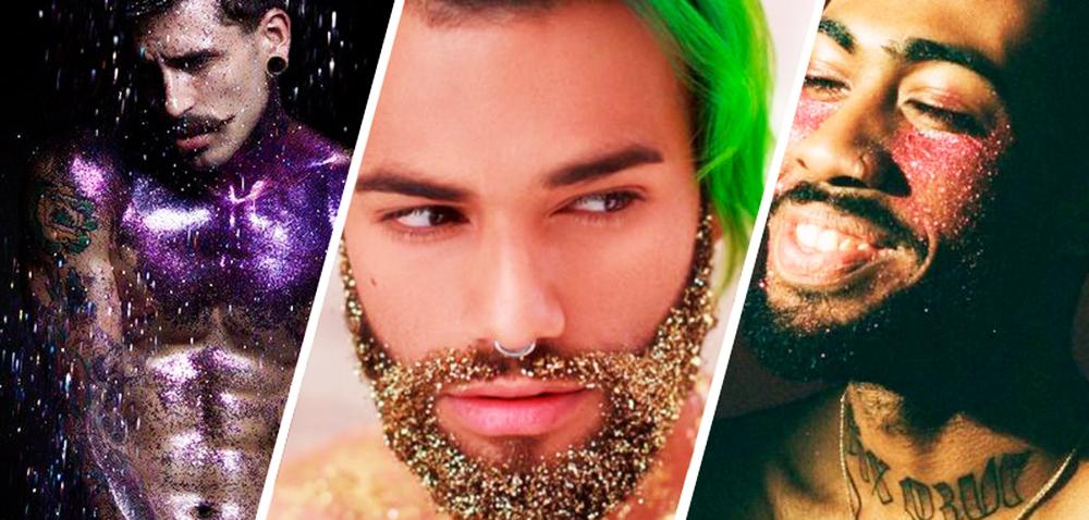 Como tirar o glitter do corpo, barba e cabelo (e onde mais ele estiver)