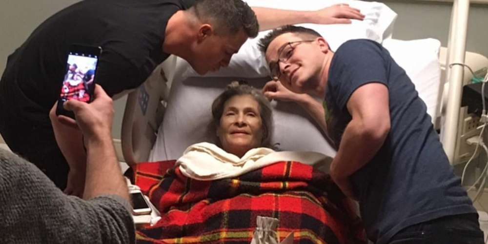 Colton Haynes Shared a Heartbreaking Message About His Mother's Declining Heath
